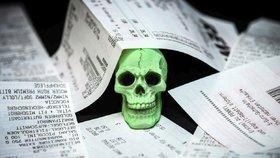 Účtenky z termopapíru jsou napuštěny nebezpečnou chemikálií BPA, která může způsobit řadu zdravotních problémů