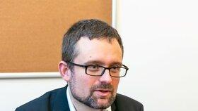 Místopředseda Pirátské strany Mikuláš Peksa