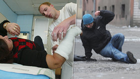 Téma pořadu Epicentrum: Kdo je zodpovědný za škody a úrazy způsobené náledím nebo padajícím sněhem?