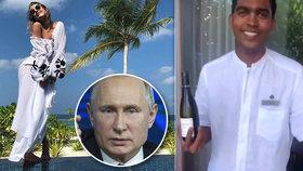 Putinova kmotřenka Xenija Sobčaková si proti sobě poštvala lidi na internetu. Kvůli rasistickému výroku.