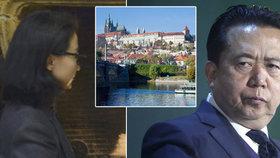Manželka exšéfa Interpolu se bojí únosu