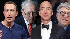 """Boháči bohatnou, chudáci tratí. Jmění 26 miliardářů odpovídá majetku asi 4 miliard """"normálních"""" lidí."""