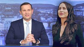 Soukup vrací na obrazovky zpravodajskou relaci, moderovat ji bude Mynářová