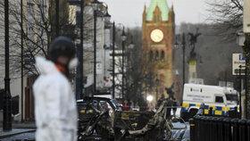 Sobotní výbuch v severoirském Londonderry.