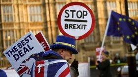 Britové si odchod z EU zvolili v referendu v červnu 2016.