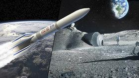 Evropská vesmírná agentura (ESA) v úterý oznámila, že podepsala smlouvu s výrobcem raket ArianeGroup na vypracování plánů k výstavbě základny na měsíci, uvedl server DailyMail. Základna by měla umožňovat dlouhodobou přítomnost lidí na Měsíci a těžbu minerálů z jeho povrchu.