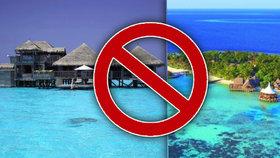 Varování před dovolenou na Maledivách. Četné případy utonutí