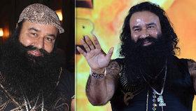 Indický Guru byl zatčen za vraždu a znásilnění