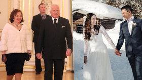 Syn Václava Klause se tajně oženil v Alpách: Nepozvali ani rodiče