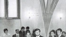 1968 – dodnes:  Mladý ekonom Václav Klaus se oženil se spolužačkou Livií. Spolu jsou už půlstoletí.