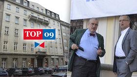 TOP 09 čeká stěhování. Michnův palác na Malé Straně vymění za kancelářský dům v Opletalově ulici u Hlavního nádraží