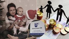 Viktorie (25) má v současnosti tři děti: Samuel (4), Emma (2) a Matyáš (0,5) jí dělají radost, úřady starost