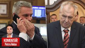 Prezidentův kancléř Vratislav Mynář nyní stáhl správní žalobu na Národní bezpečnostní úřad (NBÚ), který mu neudělil bezpečnostní prověrku.
