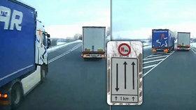 Řidič kamionu ohrozil bezpečnost na silnici v Německu