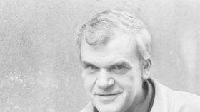 Spisovatel Milan Kundera