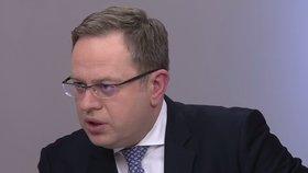 V Otázkách Václava Moravce se střetli Vojtěch Filip (KSČM) a Ivan Bartoš (Piráti) (27.1.2019)