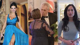 Mynářová vyštípala Verešovou. Hradní ples tentokrát odmoderuje Miloši Zemanovi manželka hradního kancléře. Verešová zřejmě ani nedorazí.