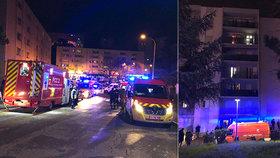 V Bastii na Korsice útočník napadl několik lidí.