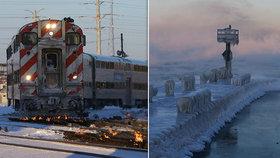 Spojené státy svírá zima, v některých oblastech je chladněji než na Antarktidě. Mrazy si vyžádaly už 8 obětí, (31.01.2019).