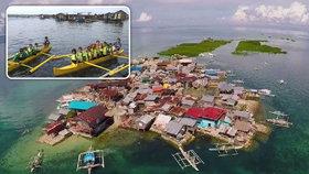 Filipínský ostrov Ubay je následkem zemětřesení téměř celý pod hladinou moře. Jeho obyvatelé ho ale odmítají opustit, i když jim voda sahá až po kotníky a protéká jejich domy.