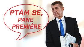 Andrej Babiš v pořadu Ptám se, pane premiére