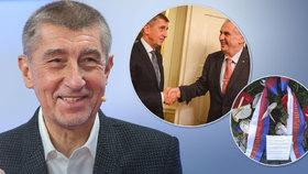 Babiš nechce být prezidentem. Ve studiu Blesk Zpráv si v pořadu Ptám se, pane premiére navíc rýpnul do Zemana. (3. 2. 2019)