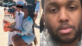 Bývalý voják (33) nejprve zabil syna (6) své přítelkyně, pak se v přímém přenosu střelil do hlavy.