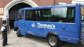 Škola Thomas's, kterou navštěvuje princ George.