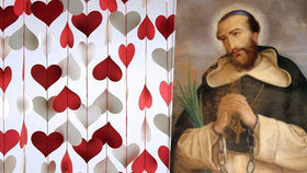 Svatý Valentin byl sťat na mostě, protože šířil lásku a křesťanské tradice, tvrdí jedna z legend
