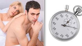 Pilulka proti předčasnému vyvrcholení: Až 4x delší sex!