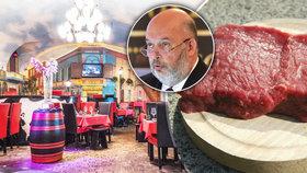 Restaurace La Casa Argentina si stěžuje na poškození jména ministrem Tomanem