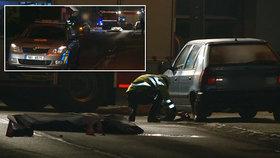 Nehoda na Blanensku, auto srazilo chodce