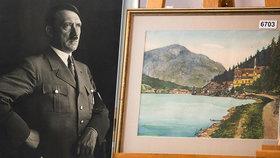 Adolf Hitler před válkou namaloval řadu obrazů. Jsou však umělecky bezcenné.