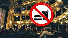 Jídlo a pití v hledištích českých divadel? Zapomeňte, vzkazují divadla