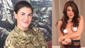 """Vojanda se dříve živila jako """"lehká"""" modelka. V armádě ji za to velitel moc nepochválil"""