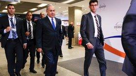 Izraelský premiér Benjamin Netanjahu během své návštěvy Polska