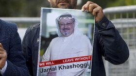 Zavražděný novinář Džamál Chášukdží