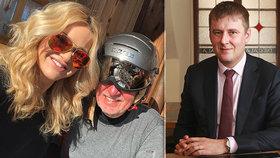 Andrej Babiš tráví dovolenou s manželkou Monikou v Alpách, na mnichovskou konferenci vyráží ministr Petříček