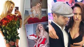 Jak oslavily Valentýn české celebrity?