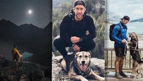 Kanaďan zdolává hory se svým věrným psem a vše dokumentuje na úžasných fotkách