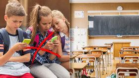 Zakáží základní školy mobilní telefony o přestávkách?