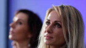 Europoslankyně hnutí ANO - Dita Charanzová a Martina Dlabajová, budou opět kandidovat do Evropského parlamentu (17. 2. 2019)
