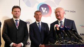 Jaroslav Faltýnek zůstane i dál prvním místopředsedou hnutí ANO. Při volbě získal 190 hlasů. (17. 2. 2019)
