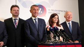 Vedení i celé hnutí je podle předsedy Andreje Babiš stabilizované na politické scéně. (17. 2. 2019)