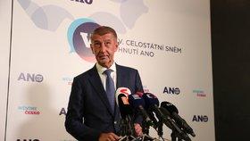 Andrej Babiš bude považovat za úspěch v eurovolbách získání více než čtyř křesel