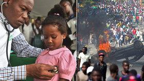 Nemocnicím na Haiti schází nezbytný lékařský materiál v době, kdy zemí otřásají protivládní protesty. Místní personál není schopný se postarat o pacienty, kteří z nemocnic prchají. Informovala o tom CNN.