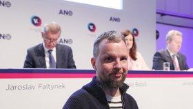Guru sociálních sítí hnutí ANO Marek Prchal na volebním sněmu v Praze (17. 2. 2019)