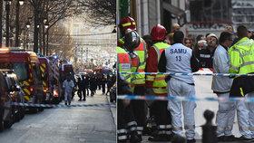 Muž zaútočil nožem v centru Marseille.