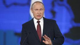 Ruský prezident Putin během každoročního poselství o stavu země slíbil změny k lepšímu.