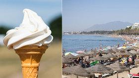 Dívka si ve španělském letovisku dala zmrzlinu a zemřela na alergickou reakci (ilustrační foto).